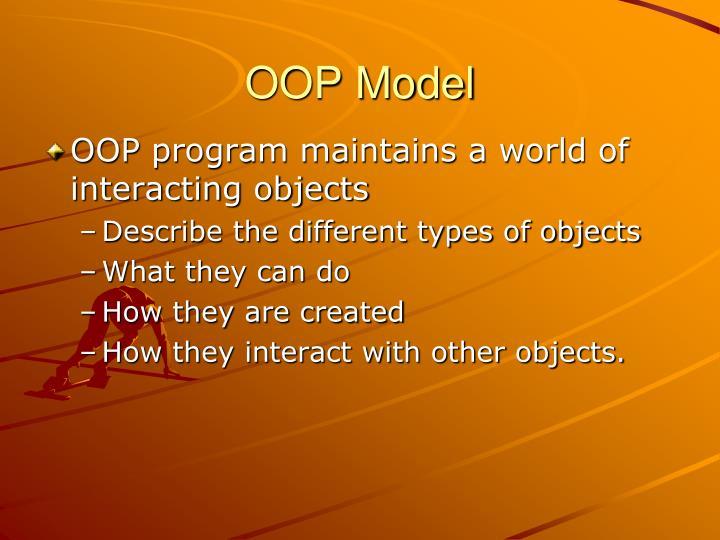 OOP Model