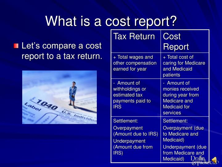 What is a cost report1