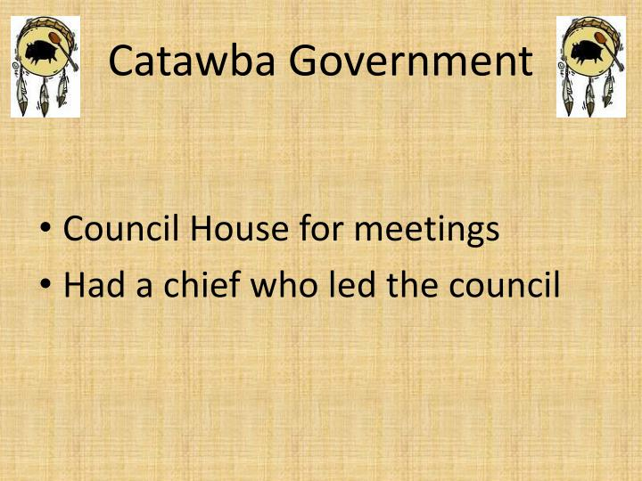 Catawba Government