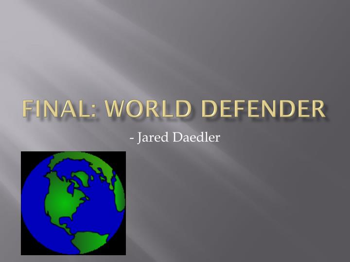 final world defender