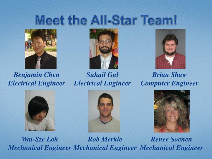 Meet the all star team