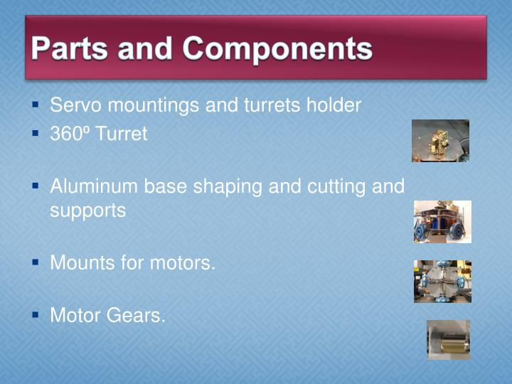 Parts and Components