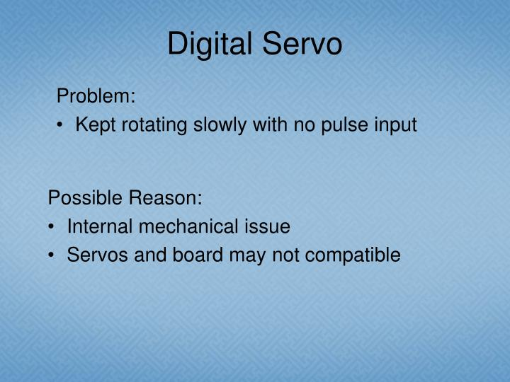 Digital Servo