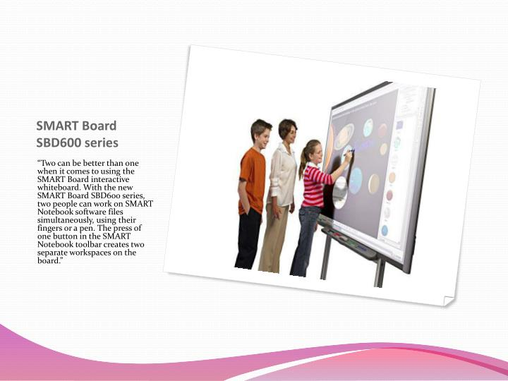 SMART Board SBD600 series