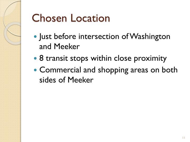 Chosen Location