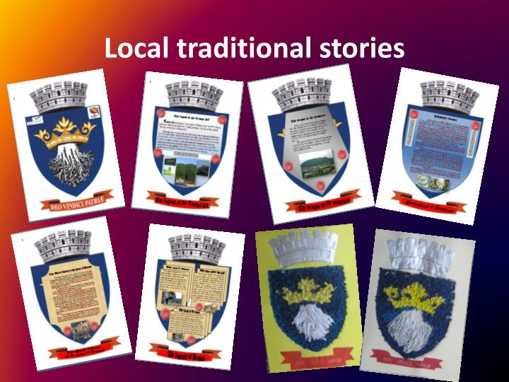 Local traditional stories