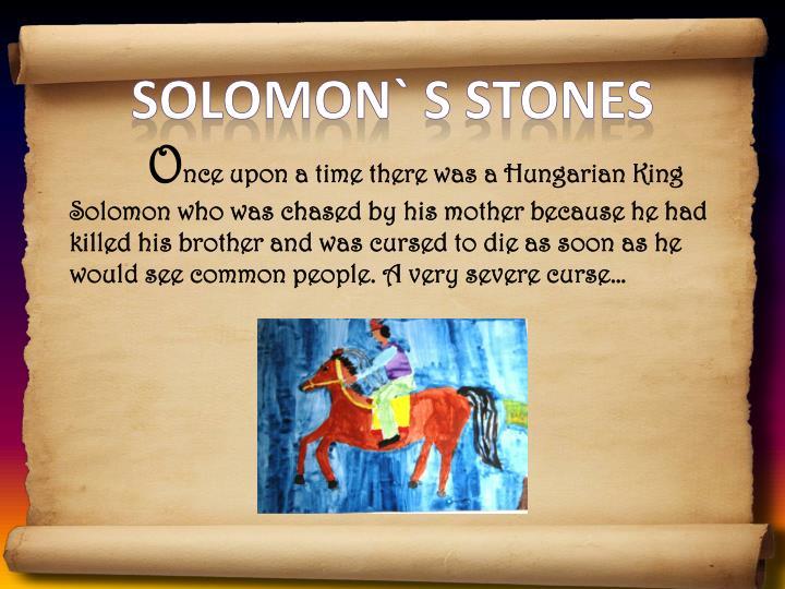 Solomon` s