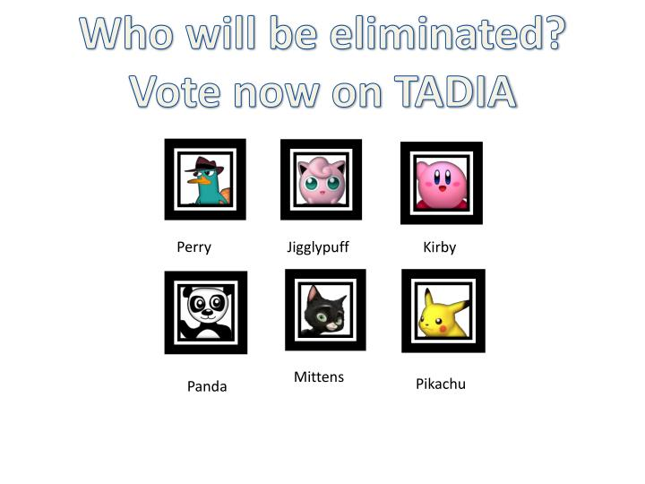 Who will be eliminated?