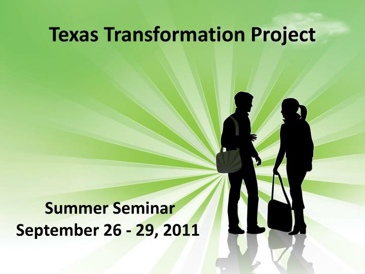 texas transformation project n.