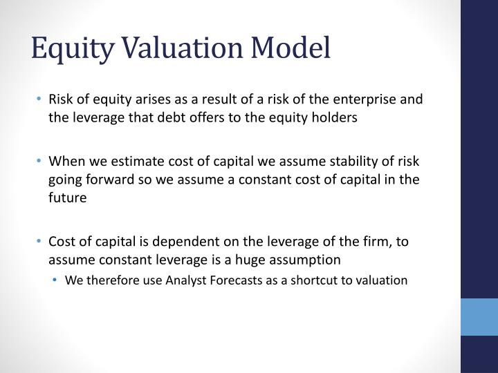 Equity Valuation Model