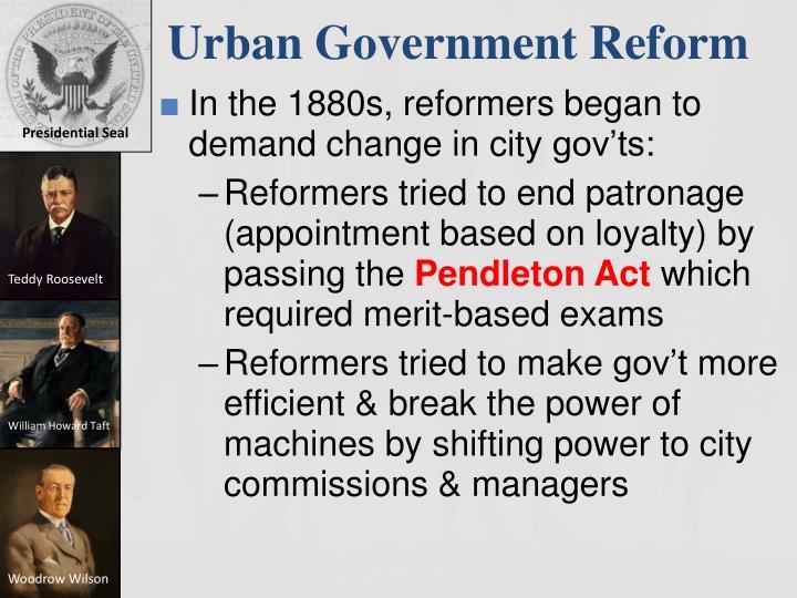 Urban Government Reform