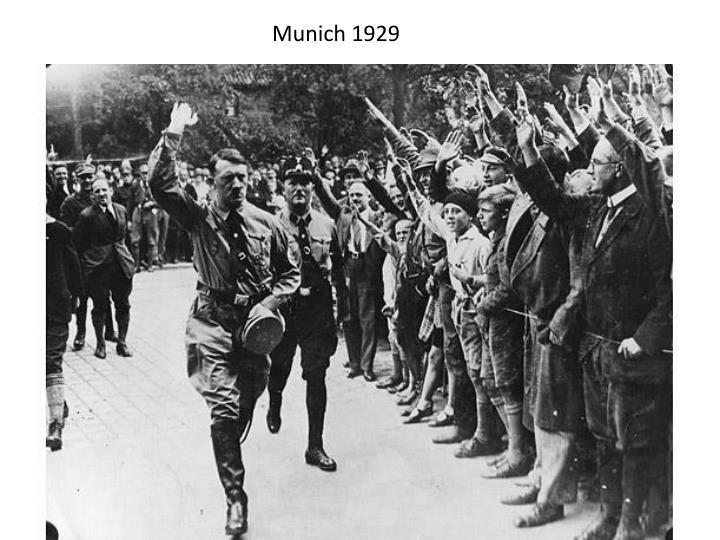Munich 1929