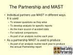 the partnership and mast