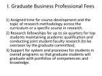 i graduate business professional fees