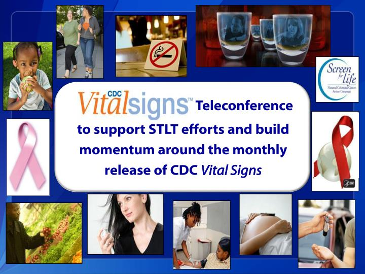 Vital signs teleconference