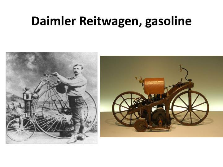 Daimler reitwagen gasoline