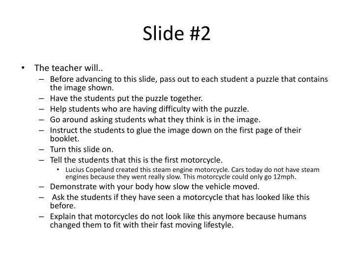 Slide #2