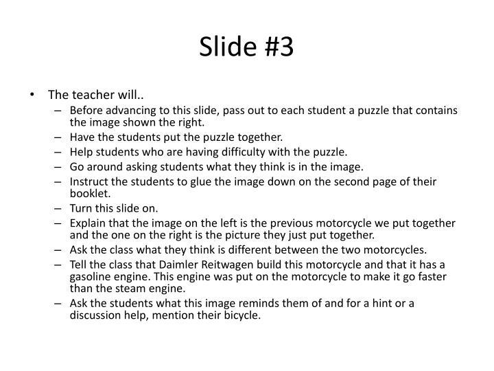 Slide #3