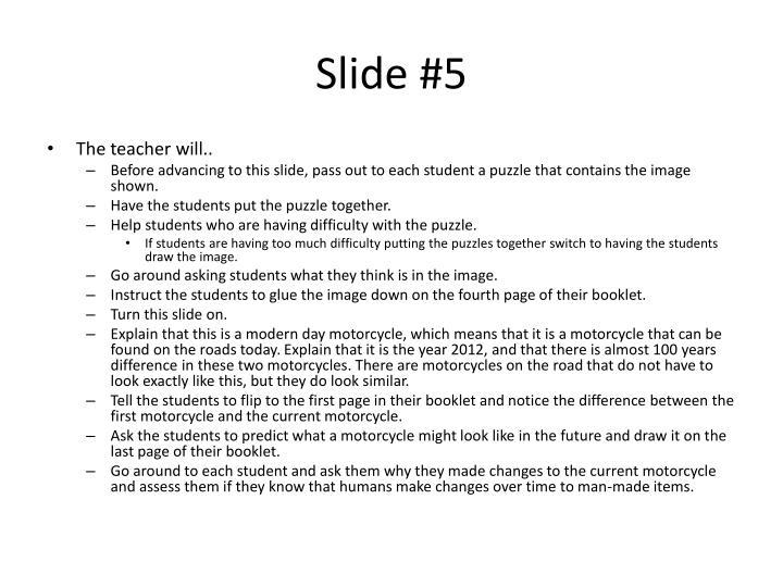 Slide #5