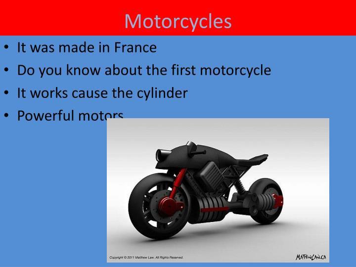 M otorcycles