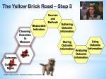 the yellow brick road step 3
