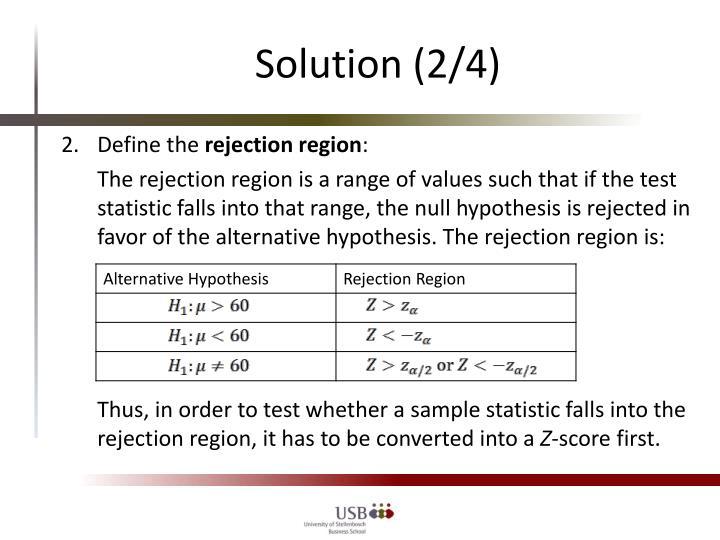 Solution (2/4)