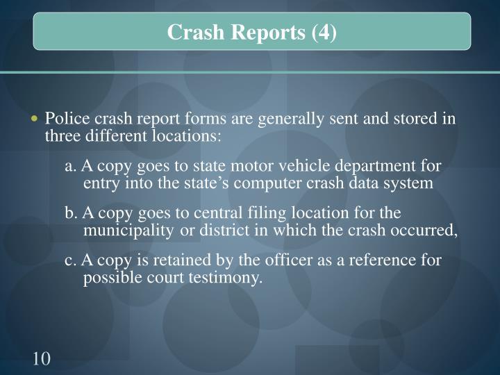 Crash Reports (4)