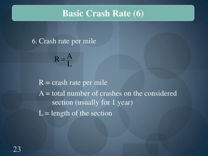 Basic Crash Rate (6)