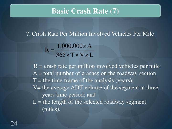Basic Crash Rate (7)