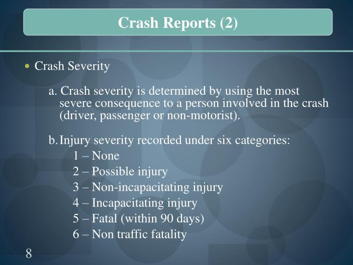 Crash Reports (2)