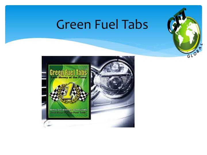 Green Fuel Tabs