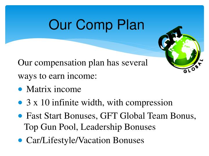 Our Comp Plan