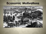 economic motivations3