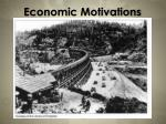 economic motivations5