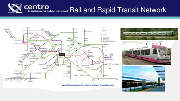 Rail and Rapid Transit Network