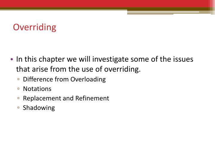 Overriding2