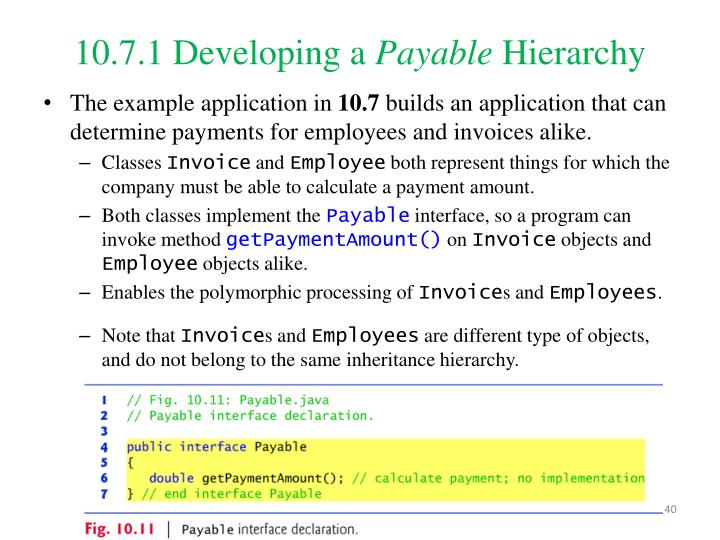 10.7.1Developing a