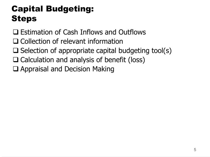 advantages of npv method of capital budgeting