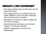 germany a new government