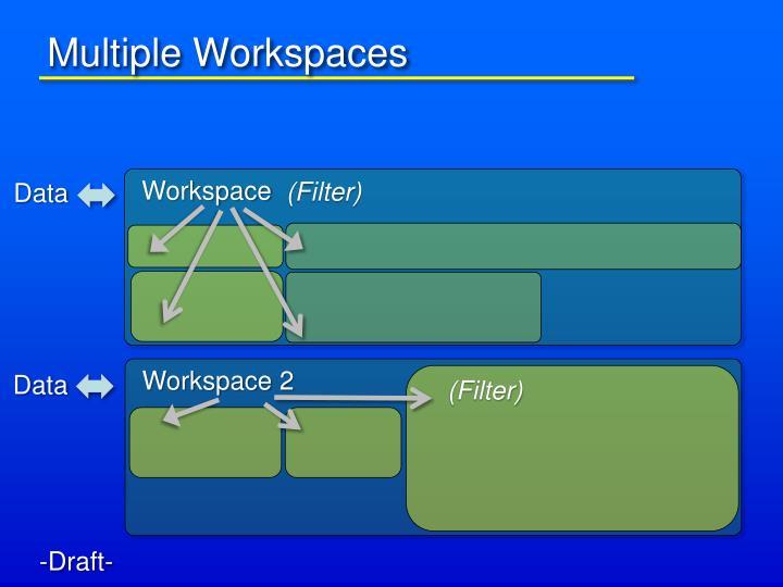 Multiple Workspaces
