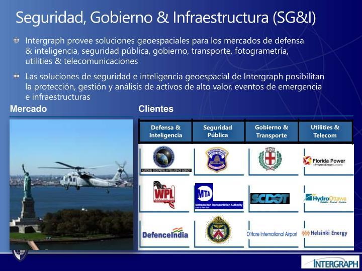 Seguridad gobierno infraestructura sg i