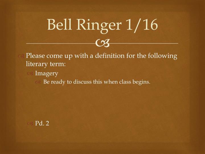 Bell ringer 1 161