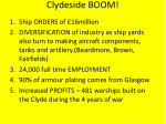 clydeside boom