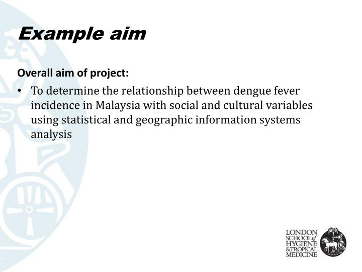 Example aim