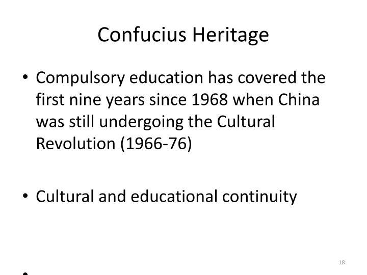 Confucius Heritage