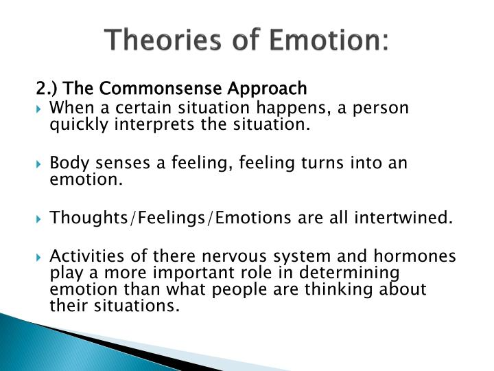 Theories of Emotion: