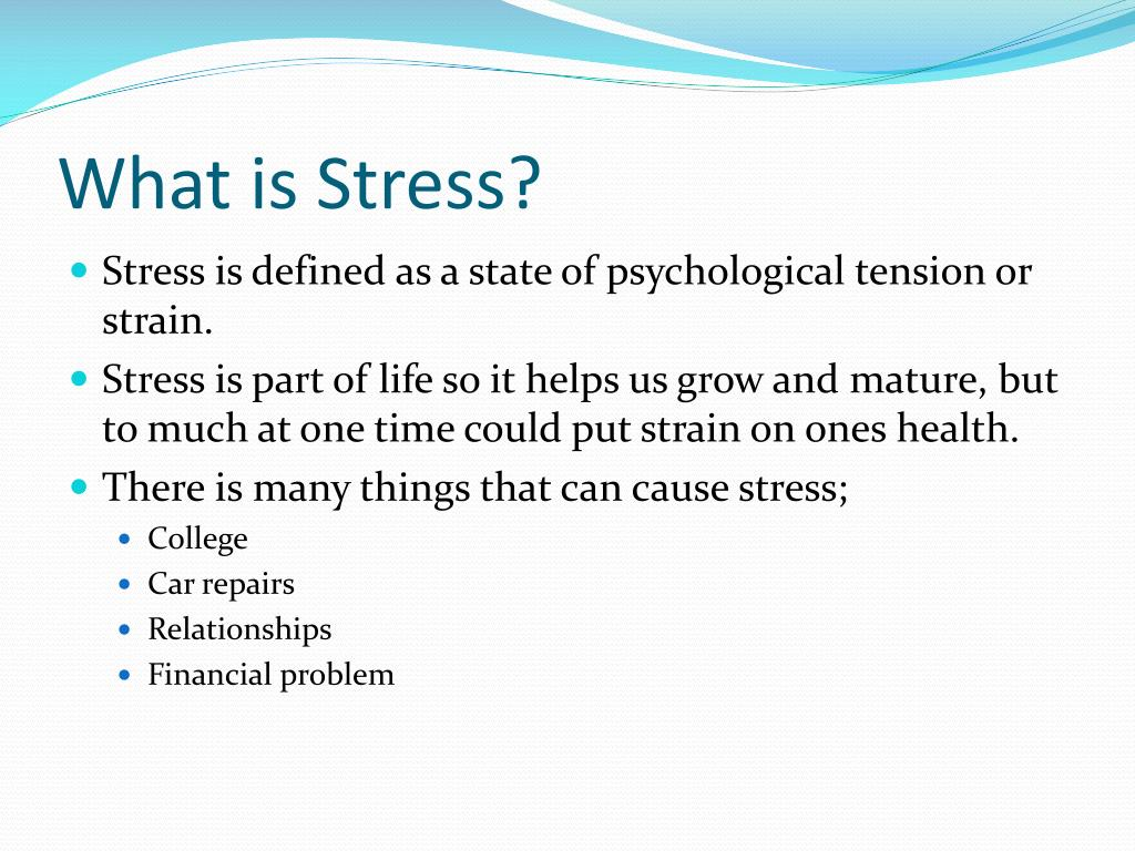 PPT - Stress PowerPoint Presentation, free download - ID ...