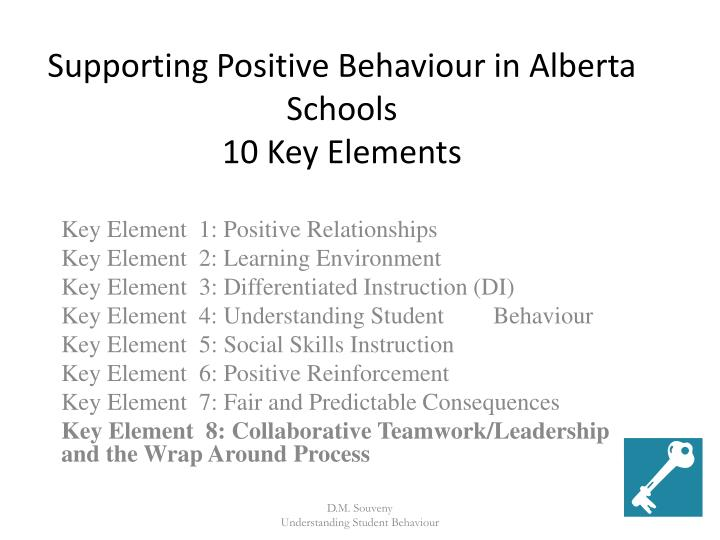 Supporting Positive Behaviour in Alberta