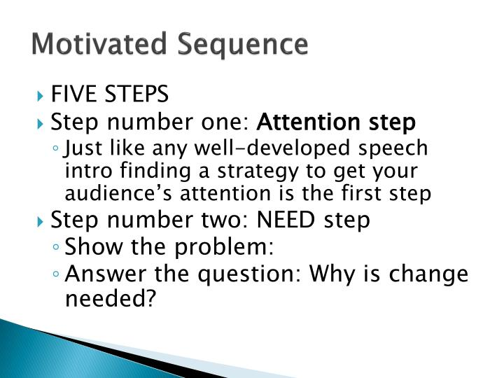 Motivated sequence1