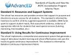 standards of quality and how the jrotc accreditation program informs them